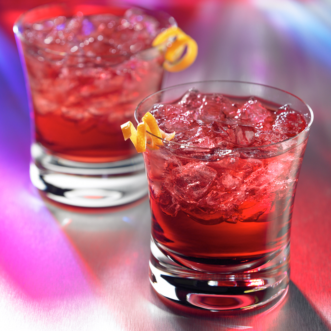 O-&-Cranberry cocktail