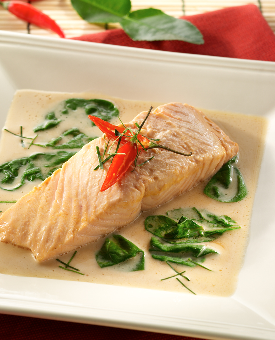 Salmon-Poached-in-Lobster-Bisque